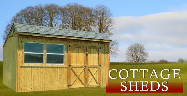 Cottage Sheds Dersen Buildings Cottage Sheds Portable Buildings