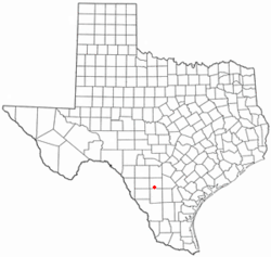 Dilley, TX Map