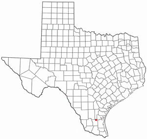 Falfurrias, Texas Map