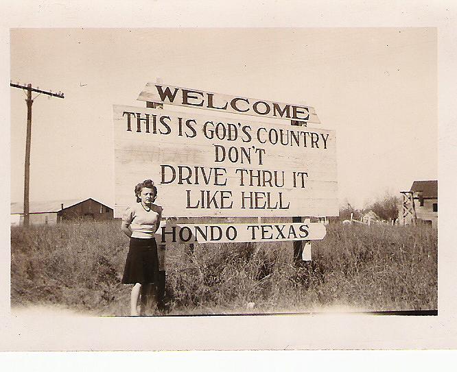 Hondo, Texas Portable Buildings Hondo, TX famous sign