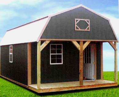 Dersen Portable Buildings Uvalde, TX building styles