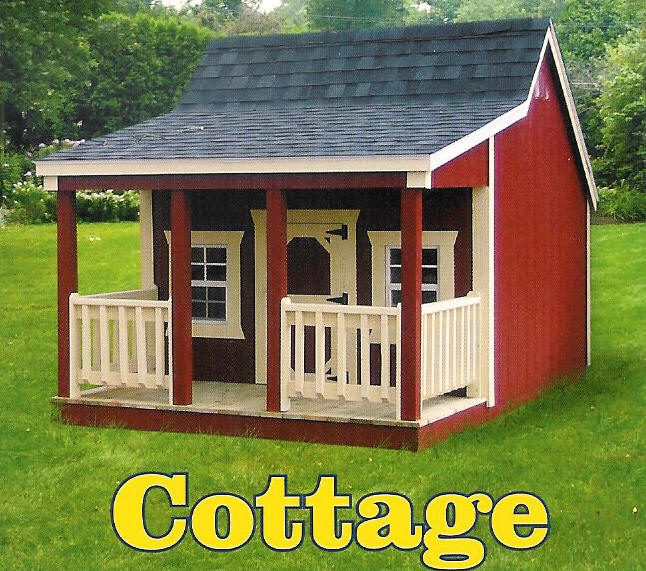 Playhouses Derksen Buildings Playhouses  Cottage playhouse picture