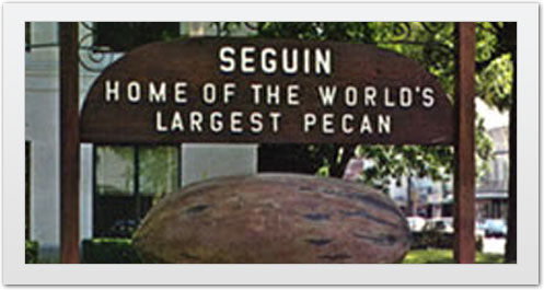 Seguin Texas - Home of the world's Largest Pecan!