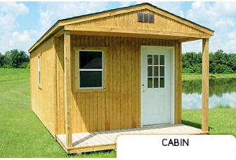 Treated Buildings Derksen Portable Buildings Treated Cabin